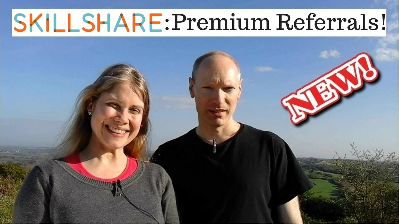 Skillshare Premium Referrals… Over $1,000 Earned In 2017!