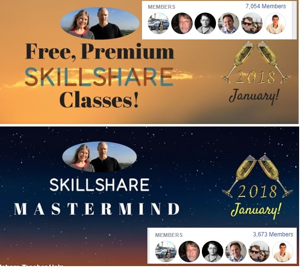 Skillshare Facebook Groups