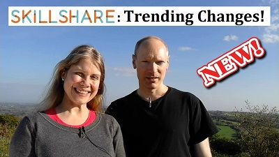 Skillshare New Trending Algorithm Test August 2016