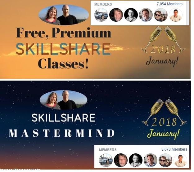 Skillshare Facebook Groups