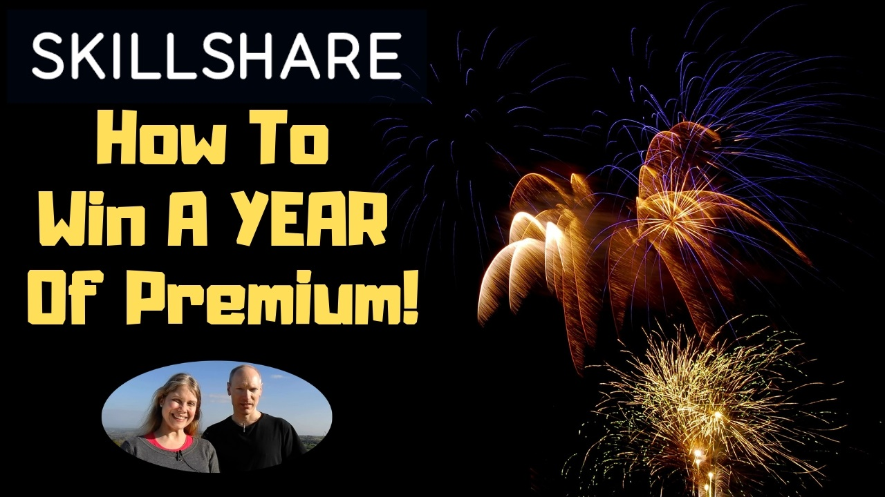 How To Win A Year Of Skillshare Premium For Free!