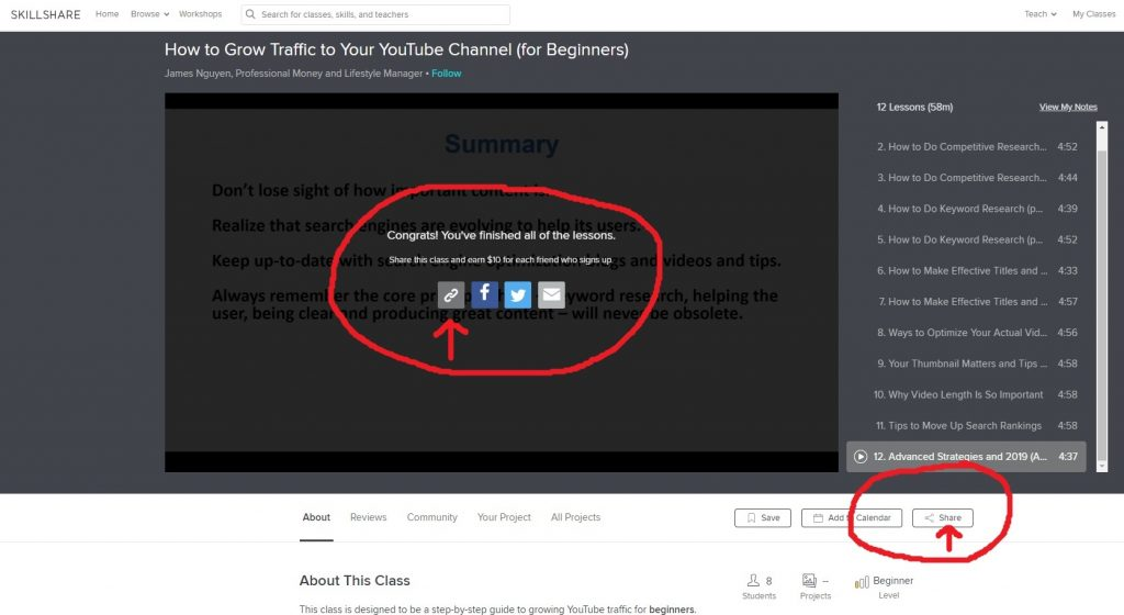 How To Share Another Teacher's Class - The Share Button