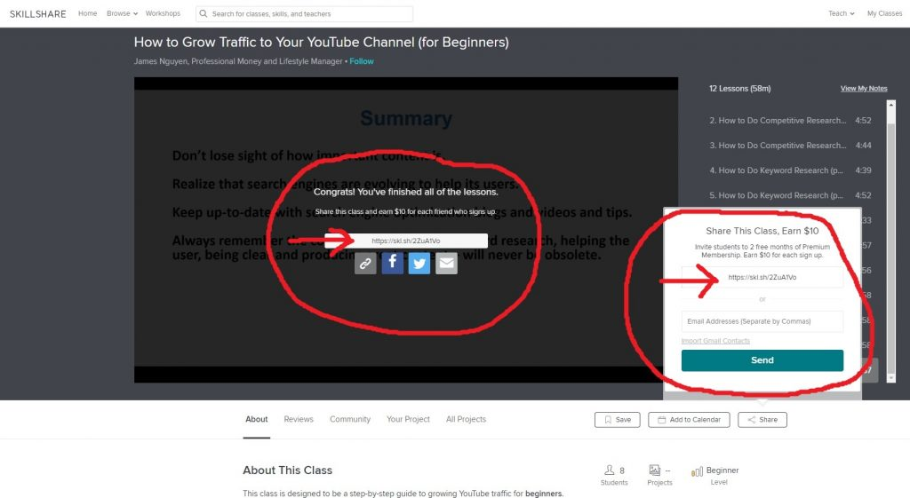 How To Share Another Teacher's Class - Your Class Referral Link