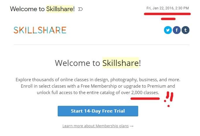 Welcome To Skillshare, 2016!