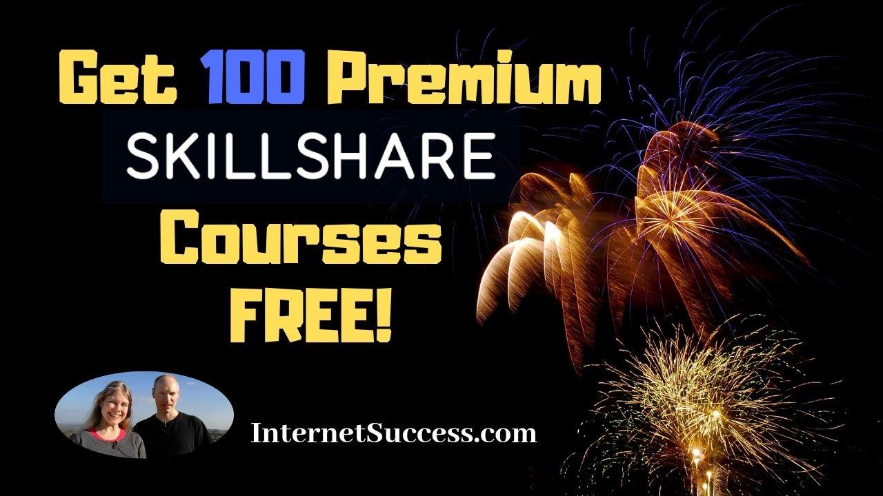 Skillshare Premium Courses – 100 Free Coupons!