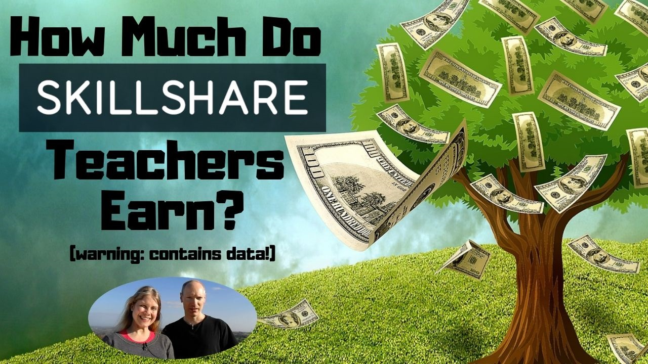 How Much Do Skillshare Teachers Earn?