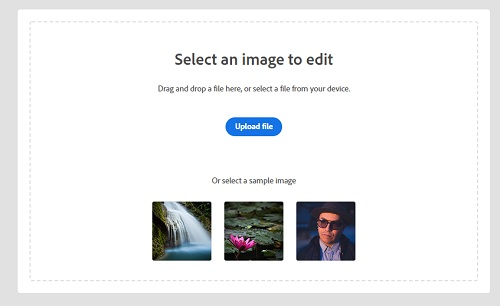 Photoshop express, an online background removal tool which requires you to have an account.